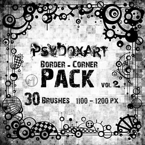 Corner Pack Brushes Vol 2