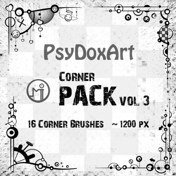 Corner Pack Brushes Vol 3
