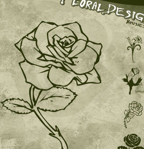 Floral Design Brushes