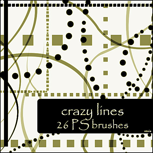 crazy lines brushes