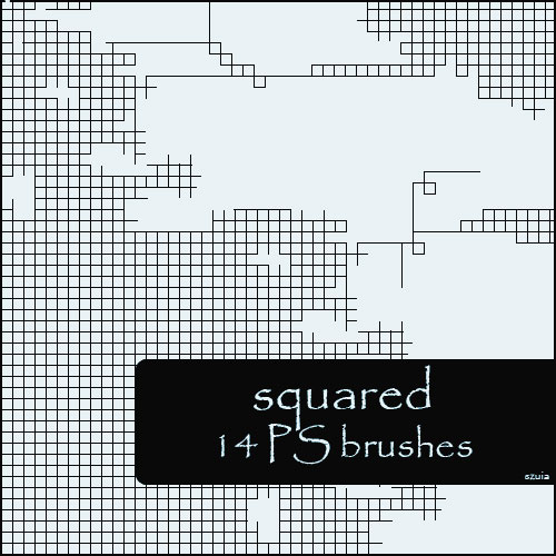 squared brushes