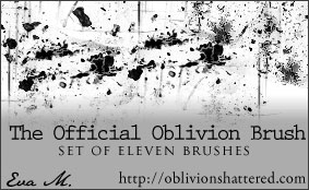 Official Oblivion Brushes