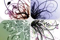 Flowery Swirls