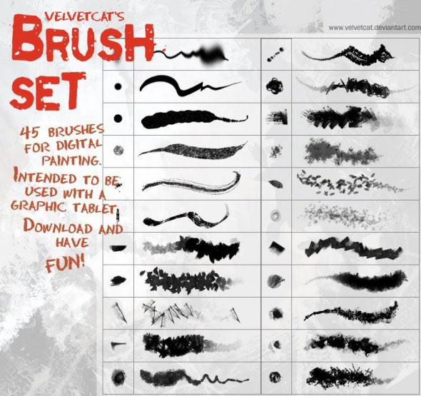 Velvetcat's Brushes