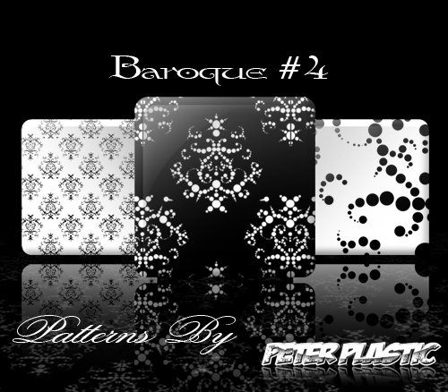 Baroque Photoshop Patterns #4