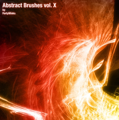 Abstract brush pack vol. 10