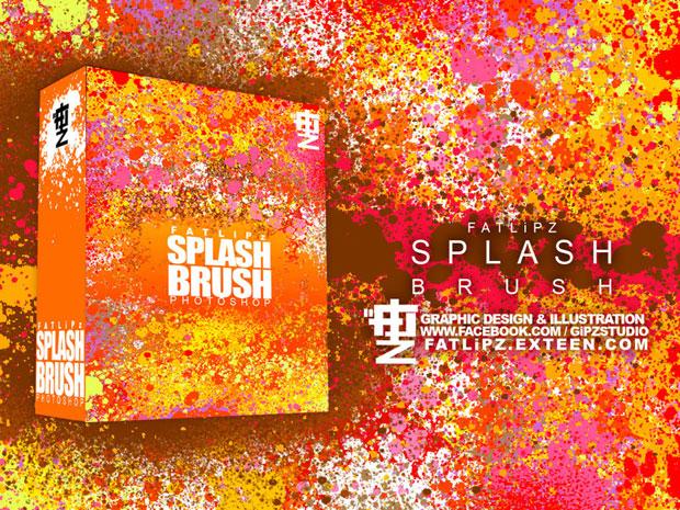 Splash Photoshop Brush