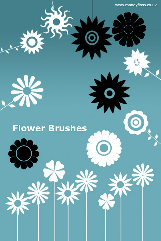 Flower Vector Brush