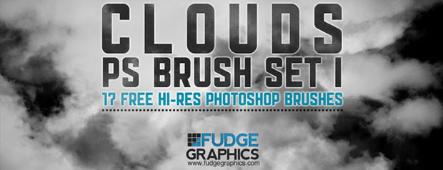 High-res Cloud Photoshop Brushes