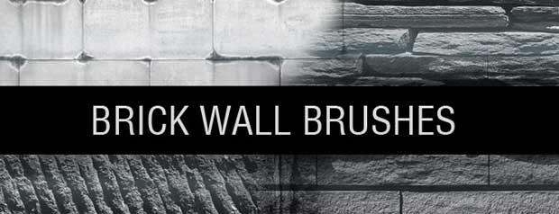 Brick Wall Photoshop Brushes